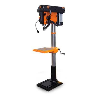 13 Amp 17 in. Twelve-Speed Floor Standing Drill Press