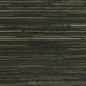 Shandong Charcoal Ramie Grasscloth Peelable Roll (Covers 72 sq. ft.)