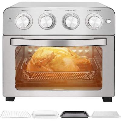 1700-Watt 24 qt. Stainless Steel Air Fryer Oven