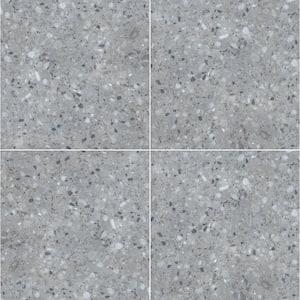 Terrazo Gris 24 in. x 24 in. Square Matte Porcelain Paver Floor Tile (14 Pieces/56 sq. ft./Pallet)