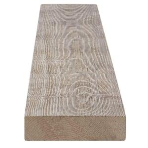 1 in. x 4 in. x 8 ft. Weathered Barn Wood Gray Pine Trim Board