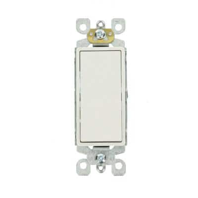 Decora 15 Amp 3-Way Switch, White