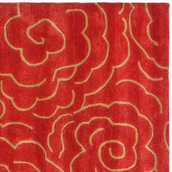 Safavieh Soho Red 8 Ft X 10 Ft Area Rug Soh812a 8 The Home Depot