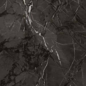 3 in. x 5 in. Laminate Sheet Sample in Cote d'Azur Noir with Premium Textured Gloss Finish