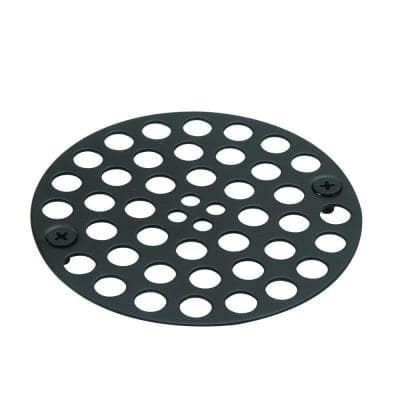 4 in. O.D. Shower Strainer in Oil Rubbed Bronze