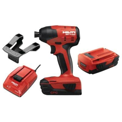 22-Volt Lithium-Ion 1/4 in. Hex Cordless Brushless SID 4 Compact Impact Driver with 3 gear speed (No Bag)