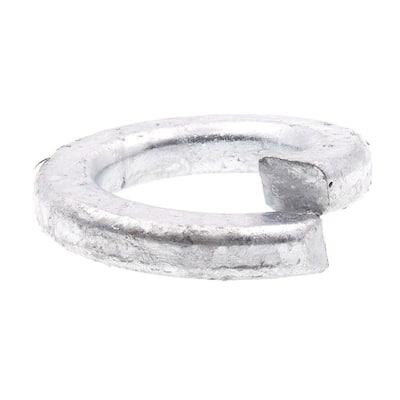 3/4 in. Hot Dip Galvanized Steel Medium Split Lock Washers (10-Pack)
