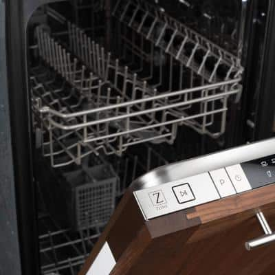 18 in. Stainless Look Top Control Smart Touch Dishwasher 120-Volt with Stainless Steel Tub