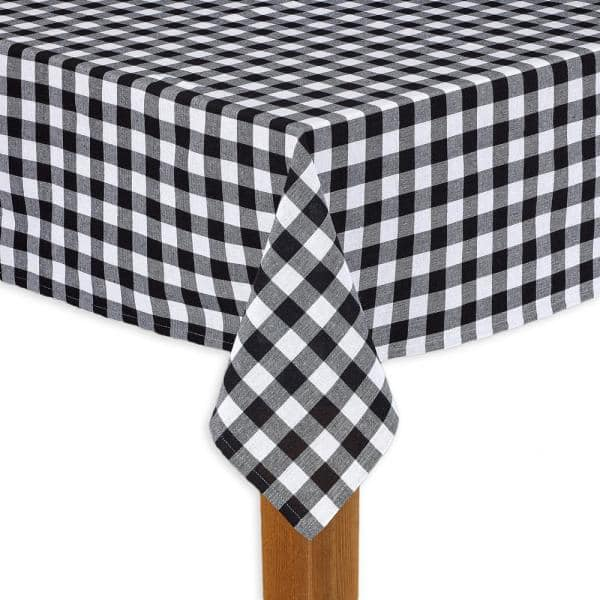 Round Black 100 Cotton Table Cloth, Round Paper Table Covers White