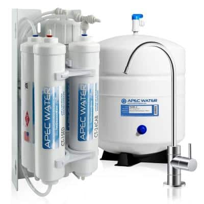 Ultimate Compact 4-Stage Under-Sink Reverse Osmosis Drinking Water Filtration System