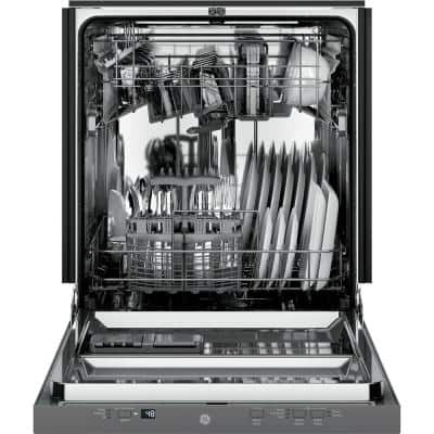 24 in. Stainless Steel Top Control Built-In Tall Tub Dishwasher with Stainless Steel Tub and 51 dBA