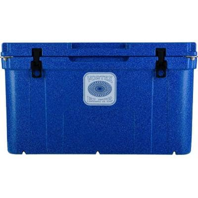 Elite 78 Qt. Rotational-Molded Customizable Cooler System in Azurite