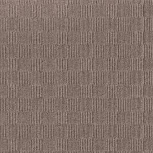 First Impressions City Block Taupe 24 in. x 24 in. Commercial Peel and Stick Carpet Tile (15-tile / case)
