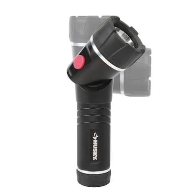 400 Lumens LED Swivel Aluminum Flashlight