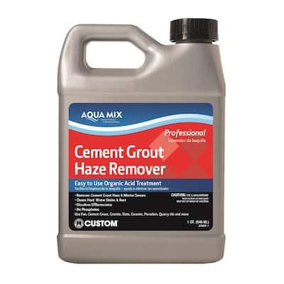 Aqua Mix 1 Qt. Cement Grout Haze Remover