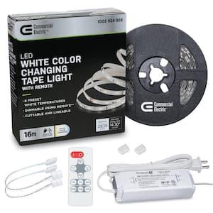 16 ft. LED Tunable White Tape Light Kit- Under Cabinet Light