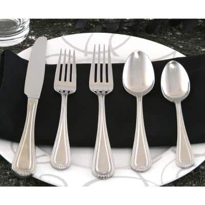 Countess 45-Piece Silver 18/0 Stainless Steel Flatware Set (Service for 8)