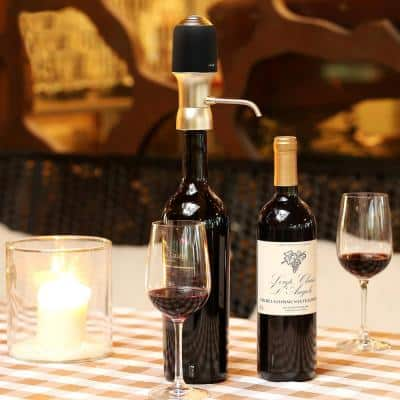 One-Touch Portable Luxury Wine Air Pressure Aerator
