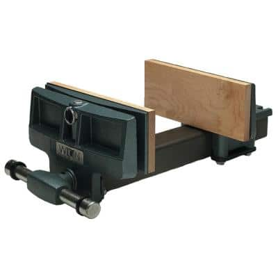 """4"""" x 7"""" Pivot Jaw Rapid Acting Woodworkers Vise"""