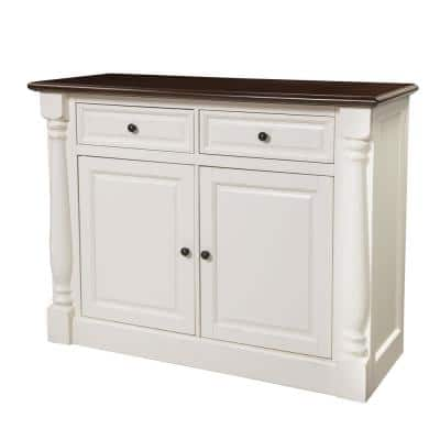 Shelby White Buffet