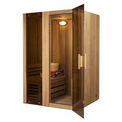 2-Person Canadian Cedar Electric Heater Sauna