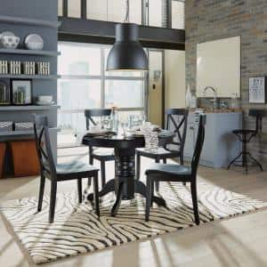 Black Dining Chairs (Set of 2)