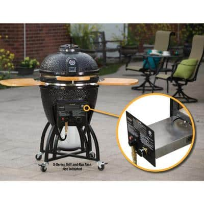 Quick Change Gas Insert for S-Series Kamado Grill