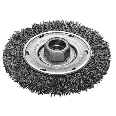 4 in. Crimped Wire Wheel Brush