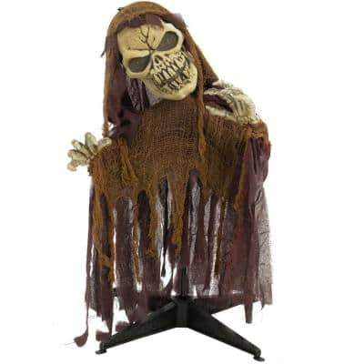 36 in. Touch Activated Animatronic Reaper