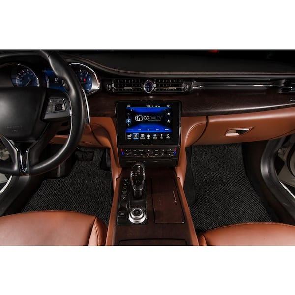 Passenger /& Rear Floor 2015 BMW 7 Series Black Loop Driver GGBAILEY D51208-S2A-BK-LP Custom Fit Car Mats for 2013 2014