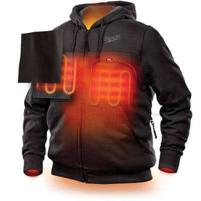 Men's M12 12-Volt Lithium-Ion Cordless Heated Hoodie (Hoodie Only)