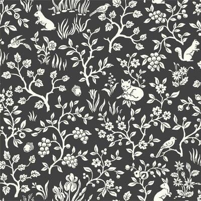 34.17 sq. ft. Magnolia Home Fox and Hare Premium Peel and Stick Wallpaper