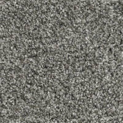 Trendy Threads I - Color Classy Texture Gray Carpet