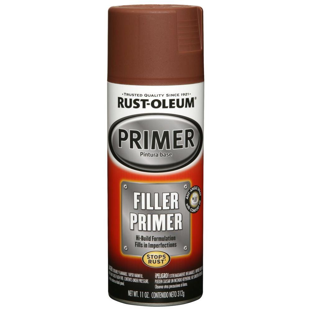 11 oz. Red Filler Primer Spray (6-Pack)