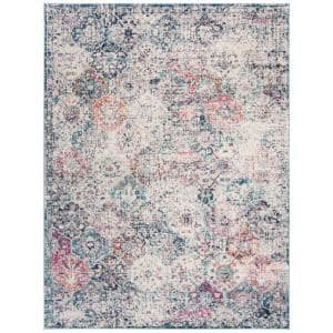Madison Navy/Teal 8 ft. x 10 ft. Area Rug