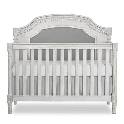 Julienne Antique Grey Mist 5-in-1 convertible crib