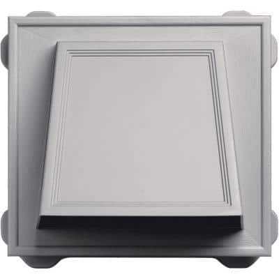 6 in. Hooded Siding Vent #030-Paintable