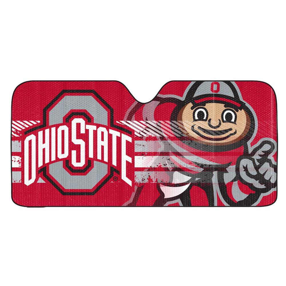 Ohio State University Windshield Sun Shade