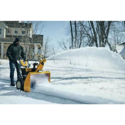 30 in. 357cc 2X Fuel Injected (EFI) Two-Stage Electric Start Gas Snow Blower with IntelliPower Tech and Heated Grips