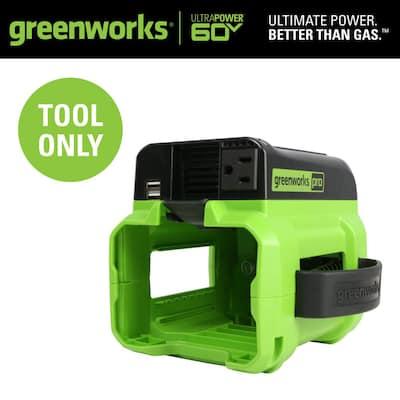PRO 300-Watt 60-Volt Button Start Portable Power Inverter Generator (Tool-Only)