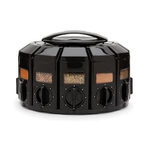 Select A Spice Plastic Black Spice Carousel