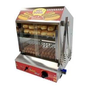 200 L Stainless Steel Hot Dog Steamer with Temperature Control