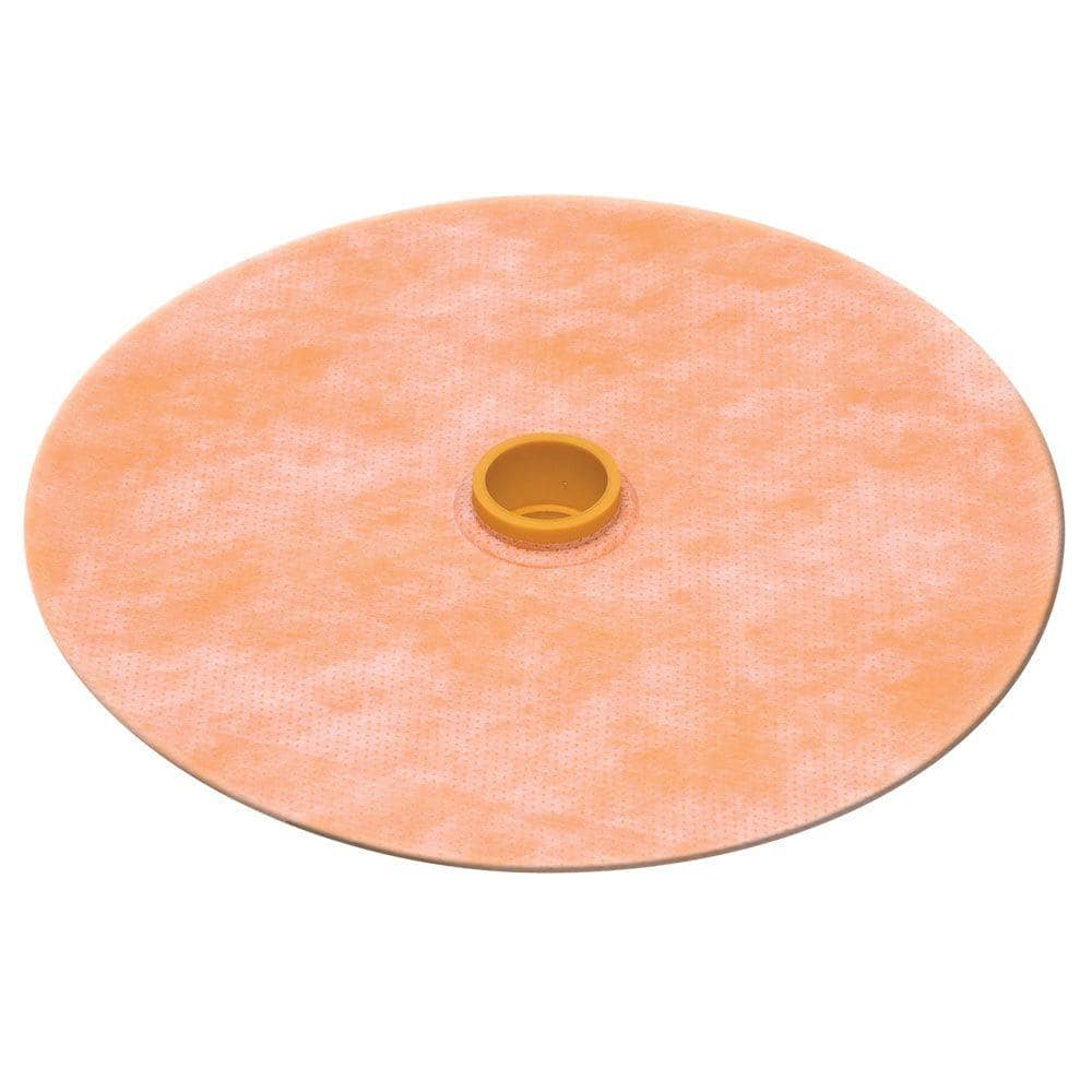 Schluter Systems Kerdi Seal Ps 1 2 In Pipe Seal With Rubber Gasket Kms185 12 The Home Depot