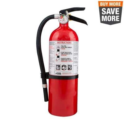 3-A:40-B:C Full Home Fire Extinguisher