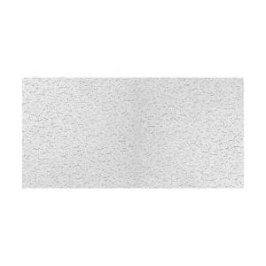 2 ft. x 4 ft. Fifth Avenue White Square Edge Lay-In Ceiling Tile, carton of 8 (64 sq. ft)