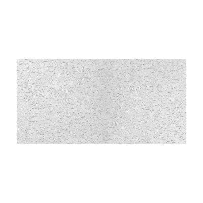 2 ft. x 4 ft. Fifth Avenue White Square Edge Lay-In Ceiling Tile (Carton of 8) (64 sq. ft.)
