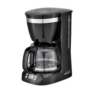 10-Cup Black Digital Coffee Maker
