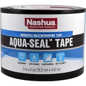 3 in. x 5 yds. Aqua-Seal Duct Tape in Black