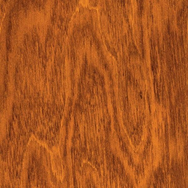 Home Legend Hand Scraped Maple Amber 3 8 In T X 4 3 4 In W X Varying Length Click Lock Hardwood Flooring 24 94 Sq Ft Case Hl126h The Home Depot