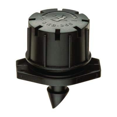 0-3 GPH Drip Full Pattern Micro Bubbler on Spike (10-Pack)